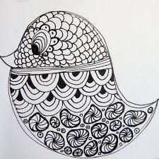how to make a zendoodle 194 best zentangle birds images on mandalas drawing
