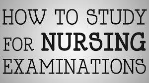 nursing how to study for nursing exams youtube
