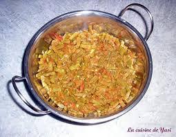 cuisiner des haricots plats recette de curry d haricots plats