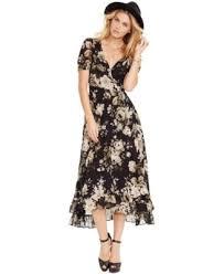 denim u0026 supply ralph lauren floral print wrap dress dresses