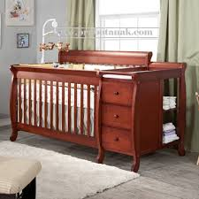 Convertible Crib Changer Combo Jual Box Bayi Kayu Jati Klasik Hans Dengan Tafel Box Bayi Kayu