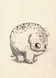 doodle drawings for sale chris ryniak july 28th sale preview doodles monsters