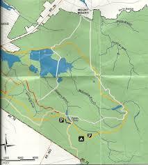 Grayson Highlands State Park Map by Gone Hikin U0027 Brendan T Byrne State Forest Nj Mt Misery Trail