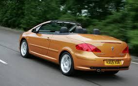 peugeot cabriolet 308 peugeot 307 coupé cabriolet review 2003 2008 parkers