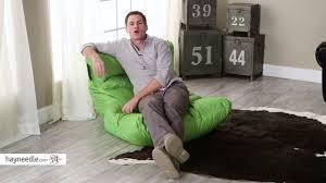 Big Joe Bean Bag Couch Big Joe Roma Bean Bag Chair Product Review Video Youtube