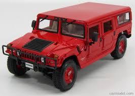 maisto 36858r scale 1 18 hummer h1 6 5l turbo diesel wagon 4
