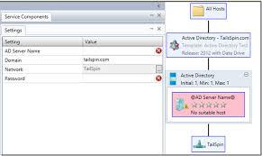 application management u2013 service template u2013 active directory stad