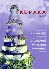 wedding cake kelapa gading kopaka cake cake