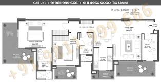 floor plan sector 88a and 89 godrej icon