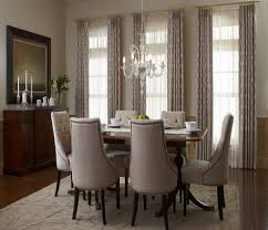 Dining Room Curtain Ideas Luxury Modern Grommet Curtains For Dining Room In The Luxury