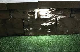 solar retaining wall lights retaining wall lights retaining wall lights low voltage stunning