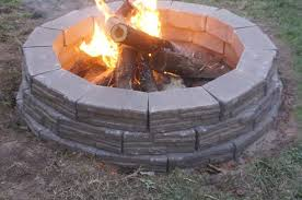 how to build an easy backyard fire pit ehow