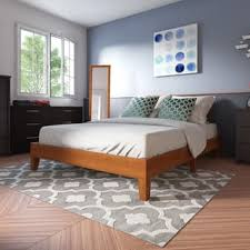 wood beds for less overstock com