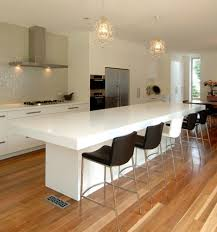 Bar Chairs For Kitchen Island Furniture White Kitchen Island With Breakfast Bar Also Modern