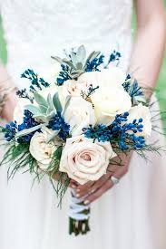 Blue Wedding Bouquets Small Bouquet With 3 Roses Yahoo Image Search Results