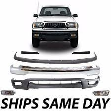 2002 toyota tacoma front bumper chrome front bumper for 2001 2002 2003 2004 toyota tacoma