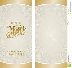 free blank menu template menu template stock vector image of ornament occasion 44840660