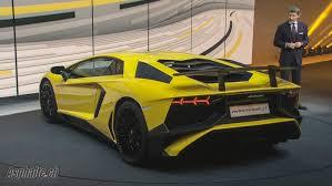 lamborghini aventador sv top speed geneva 2015 lamborghini aventador lp750 4 superveloce auto
