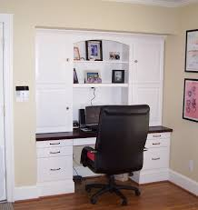 built in desk get all the organizational space without having to