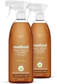 what is the best cleaning product for wood cabinets method daily wood cleaner almond 28 ounce 2 pack packaging may vary