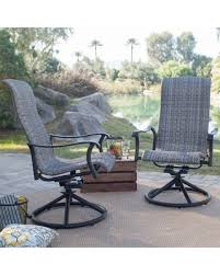 Swivel Rocking Chairs For Patio Sweet Deal On Belham Living Charter All Weather Wicker Outdoor