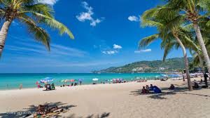 Map Of Puerto Rico Beaches by Patong Beach Map Phuket Maps