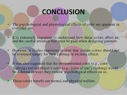 psychological effects of color color and psychology