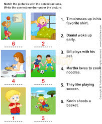 action verbs worksheets 13 esl efl worksheets kindergarten