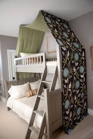 Bunk Bed Canopy Tent Kid S Room With Canopy Bunk Bed Chalkboard Wall Paint Mohawk