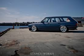 bmw wagon stance to think there never was an e28 wagon this was an