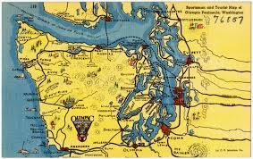 Seattle Tourist Map Pdf by File Sportsman And Tourist Map Of Olympic Peninsula Washington