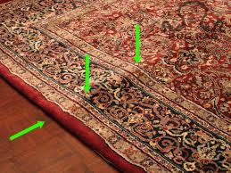 How To Make A Area Rug by Will These Creases Ever Come Out How To Make Your New Rug Lay Flat