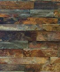 Rusty Brown Slate Mosaic Backsplash by When Or If I Ever Get To Put In This Style Of Slate This Is What