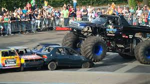 monster truck crash videos youtube monster truck crashes into crowd in netherlands youtube