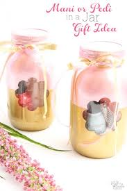 day gift ideas manicure or pedicure in a jar a s day gift idea