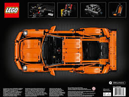 Lego Technic Porsche 911 Gt3 Rs 42056 Orange Or Camouflage