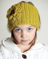 ear warmer headband free crochet ear warmer headband with flower pattern crochet and
