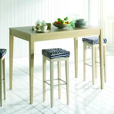 tables hautes de cuisine table de cuisine haute table sejour bois maisonjoffrois