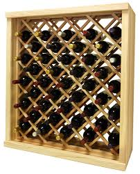 best contemporary wood wine rack pertaining to residence plan