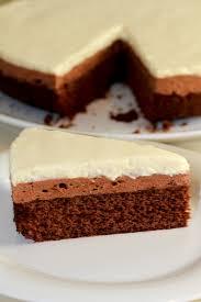 mousse au chocolat cake vegan and gluten free vegangoescrazy