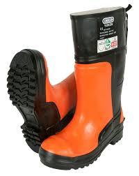 yukon s boots oregon yukon ii chainsaw boots orange all sizes 6 13 class 3