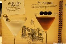 manhattan drink illustration disney drink menu cocktails