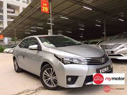toyota corolla 2014 altis 2014 toyota corolla altis for sale in malaysia for rm85 800 mymotor