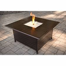 lowes table l set inspirational fire pit table set lowes shop 43 5 in w x 43 5 in l