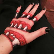 make up artist supplies s spooky creations take to a whole new level