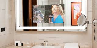 Mirror Tv Bathroom Mirrorvue Mirror Tv Completely Vanishing Mirror Tv 4k Uhd Tv