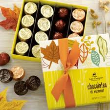 thanksgiving chocolates thanksgiving chocolate gifts boxed autumn chocolates of vermont