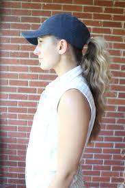 baseball hair styles baseball hat hairstyles the dress decoded