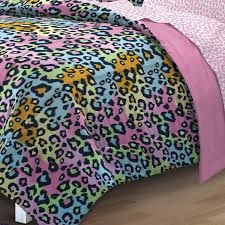 amazon com my room neon leopard ultra soft microfiber girls