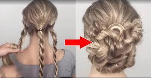 chignon mariage coiffure la technique hyper simple pour réaliser un chignon de
